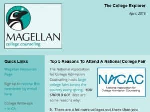 Magellan College Counseling Newsletter