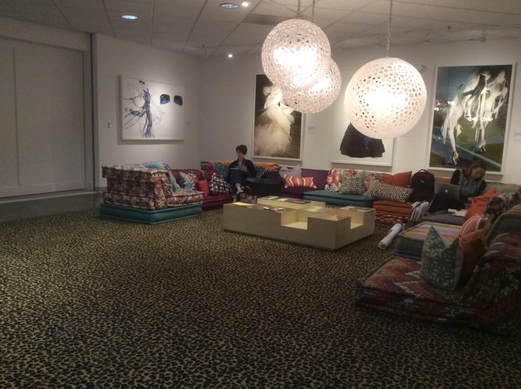 SCAD Atlanta Student Lounge Area
